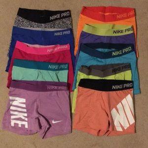 Nike Pro spandex haul